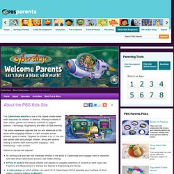 Cyberchase. About the PBS KIDS Site