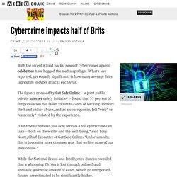 Cybercrime impacts half of Brits
