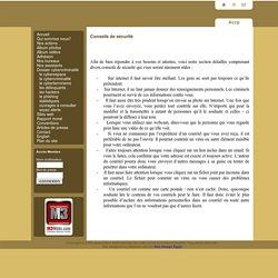 Conseils de sécurité - L'Association Internationale de Lutte Contre la Cybercriminalité (A.I.L.C.C.)