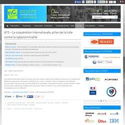 A15 - La coopération internationale, pilier de la lutte contre la cybercriminalité