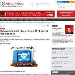 Cybercriminalité : les chiffres 2014 du vol des données