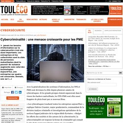 Cybercriminalité: une menace croissante pour les PME