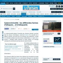 Cybercriminalité : les différentes formes d'attaques... et d'attaquants