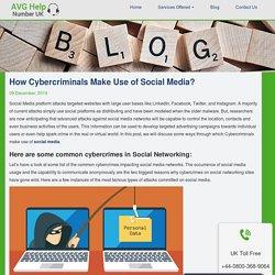 How Cybercriminals Make Use of Social Media?