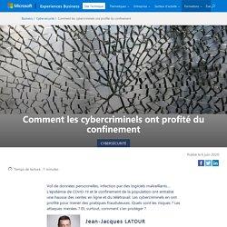 Cybercriminels et confinement