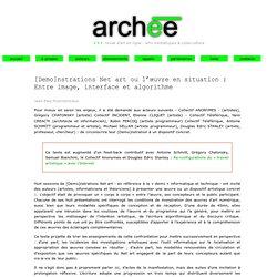 cyberart et cyberculture artistique 3