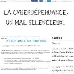 Les différents domaines de la cyberdépendance - La cyberdépendence, un mal silencieux.