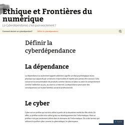 Ethique et Frontières du numérique