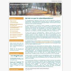 La cyberdépendance : informations et services - Clinique de psychologues à Montréal