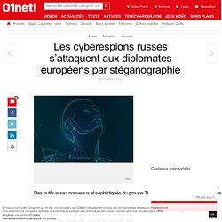 Les cyberespions russes s'attaquent aux diplomates européens par stéganographie