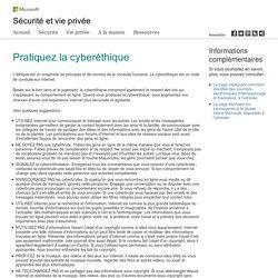 Sécurité Microsoft