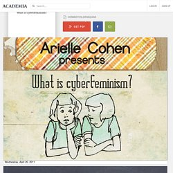 What is Cyberfeminism?