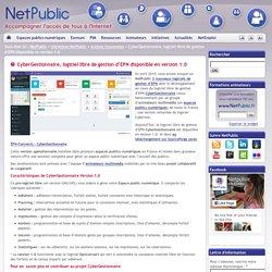 CyberGestionnaire, logiciel libre de gestion d'EPN disponible en version 1.0
