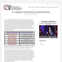 La « cyberguerre » de l'information va au delà des fake news - ODI