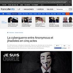 La cyberguerre entre Anonymous et jihadistes en cinq actes