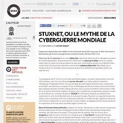 Stuxnet, ou le mythe de la cyberguerre mondiale » Article » OWNI, Digital Journalism