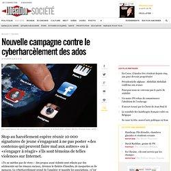 Nouvelle campagne contre le cyberharcèlement des ados