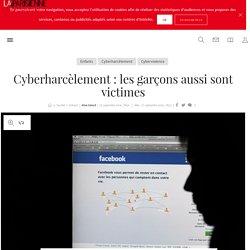 Cyberharcèlement: les garçons aussi sont victimes - La Parisienne