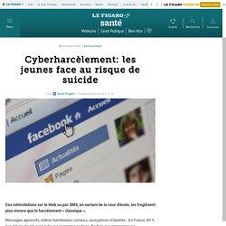 Cyberharcèlement: les jeunes face au risque de suicide