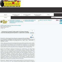 Cyberisques News - SCADA et milieu maritime: une cybersécurité stratégique
