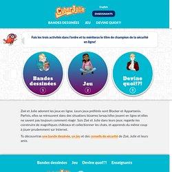 cyberjulie - activités élèves - Québec