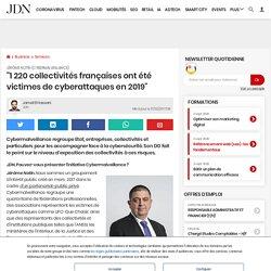 1220collectivités françaises ont été victimes de cyberattaques en 2019