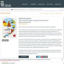 Cyberminimalisme, Karine Mauvilly, Documents