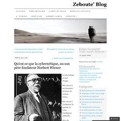 Qu'est ce que la cybernétique, ou son père fondateur Norbert Wiener