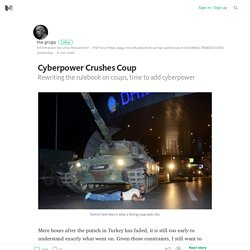 Cyberpower Crushes Coup