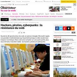 Hackers, pirates, cyberpunks : la résistance du web, Vu sur le w