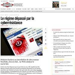 Le régime dépassé par la cyberrésistance