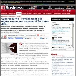 Cybersécurité : l'avènement des objets connectés va poser d'énormes défis via @01Business_fr #AssisesSI