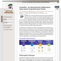 CrowdSec: la cybersécurité collaborative, opensource et gratuite pourLinux