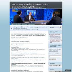 A vos agendas : Colloque à Lille le 26 janvier sur le thème du crime organisé au cyber terrorisme, quels risques?
