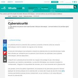 Que signifie cybersécurité? - Definition IT de Whatis.fr