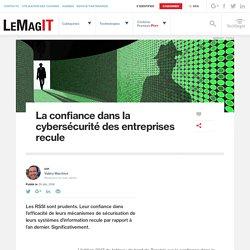 La confiance dans la cybersécurité des entreprises recule