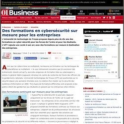 Des formations en cybersécurité sur mesure pour les entreprises via