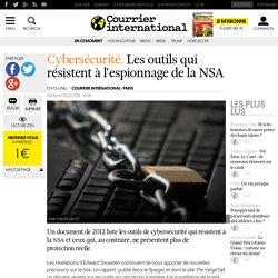 Les outils qui résistent à l'espionnage de la NSA