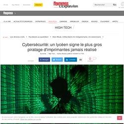 Cybersécurité: un lycéen signe le plus gros piratage d'imprimantes jamais réalisé