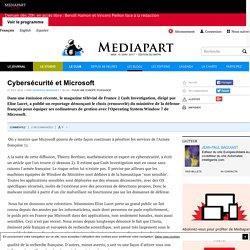 Cybersécurité et Microsoft
