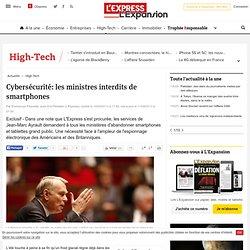 Cybersécurité: les ministres interdits de smartphones