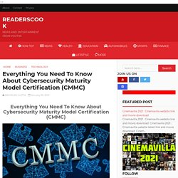 Everything You Need To Know About Cybersecurity Maturity Model Certification (CMMC)
