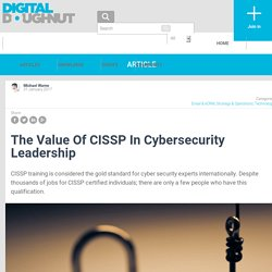 The Value Of CISSP In Cybersecurity Leadership - Koenig Solutions