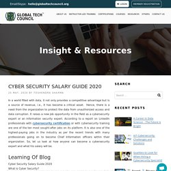 CyberSecurity Salary Guide 2020