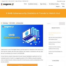 3 SMB Cybersecurity Statistics & Trends to Watch Out in 2020
