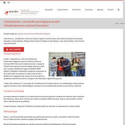 Cybersexisme : une étude sociologique au sein d'établissements scolaires franciliens – OUIEP