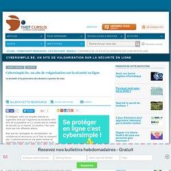 Cybersimple.be, un site de vulgarisation sur la sécurité en ligne