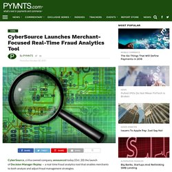 CyberSource Adds Real-Time Fraud Analytics Tool