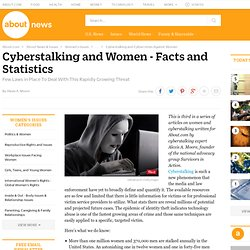 Cyberstalking and Women - Facts and Statistics