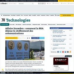 la NSA déjoue le chiffrement des communications !
